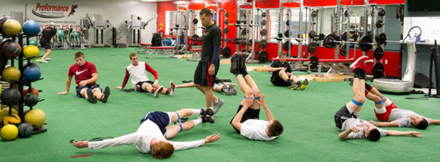 Proformance Athletes in Training - Click to Watch!